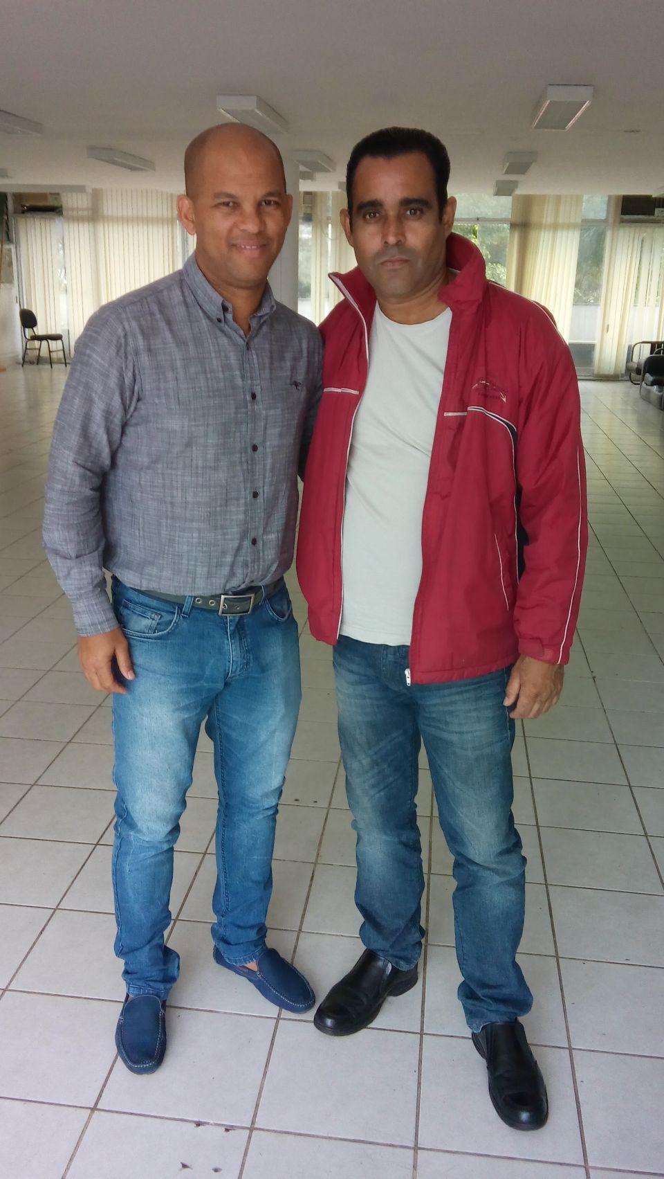 Edilson Correa Superintendente da Prefeitura e Ex Jogador de Futebol Profissional